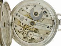 Thomas Russell Silver Open Face Pocket Watch  Swiss 1900 (6 of 6)