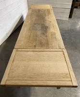 Huge Oak Farmhouse Dining Table with Extensions (7 of 24)