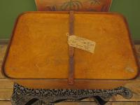 Antique Bentwood Plywood Storage Box by Luterma (2 of 16)