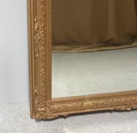Large English Rectangular  Victorian Gilt Mirror (8 of 8)