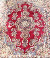 Good Antique Kirman Carpet Room Size