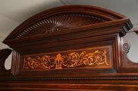 Antique Victorian Inlaid Mahogany Wardrobe by James Shoolbred (4 of 17)