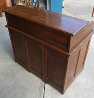 1920's Large Oak D type Roll Top Desk with Good Interior (6 of 6)