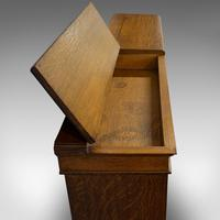 Large Antique Library Bookcase, Scottish, Oak, Bookshelf, Cabinet, Victorian (11 of 12)