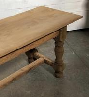 French large oak farmhouse dining table (9 of 38)