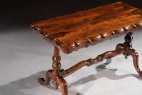 Mid 19th Century Shaped Rosewood Coffee Table (4 of 9)