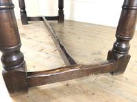 Large Antique Oak Refectory Table (8 of 9)