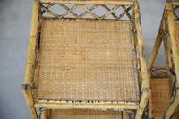 Cane & Bamboo Side Tables (5 of 8)