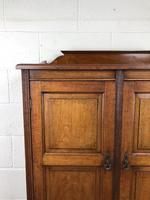 Victorian Mahogany Two Door Cupboard (5 of 13)