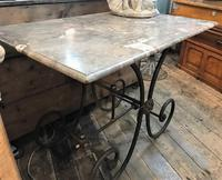 Early 20th Century French Patisserie Table