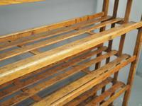 Victorian Industrial Pine Deed Rack / Wool Rack (8 of 10)