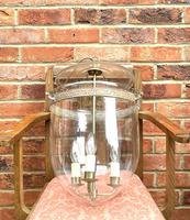 Vintage Hundi Lantern with 3 Light Fitting in Brass (2 of 3)