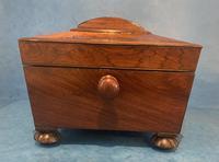Regency Sarcophagus Rosewood Jewellery Box (9 of 15)