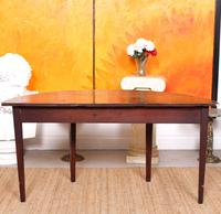 Georgian Demi Lune Console Table Mahogany Carved Hall Table (3 of 5)