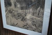 Heroic Highlander, WW1 Drawing (2 of 8)