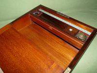 Inlaid Rosewood Writing Box - Extended Office Section c.1870 (13 of 16)