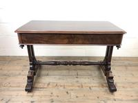 Antique William IV Mahogany Side Table (3 of 16)