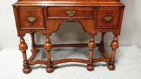 Outstanding Burr Walnut Chest of Drawers on Stand (10 of 14)