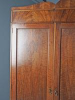 Figured Walnut 3 Door Wardrobe by Whytock and Reid (10 of 14)