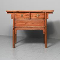 Large Chinese Elm Altar Style Table (2 of 10)