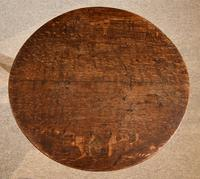 Oak Tripod Table 18th Century (4 of 4)