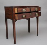 Early 19th Century Oak Side Table (2 of 9)