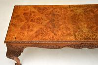 Antique Burr  Walnut Coffee Table (4 of 9)