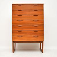 1960's Vintage Teak Chest of Drawers (3 of 10)