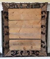 Florentine Carved Padauk Wall Mirror Overmantle c.1900 (6 of 6)