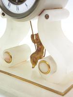 Rare Antique French Farcot Mantel Clock 8-Day Swinging Cherub Mantel Clock (8 of 11)