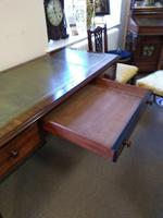 Early Victorian Three Drawer Writing Table (3 of 5)