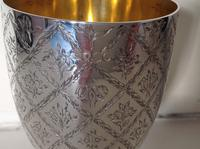 Antique Victorian Silver Goblet - 1862 (3 of 5)
