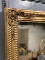 Large French gilt landscape overmantle mirror (5 of 6)