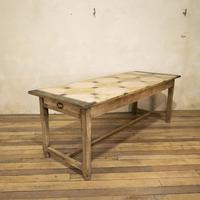 Early 20th Century French Painted Refectory Table (13 of 14)