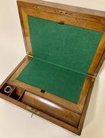 Victorian Walnut Writing Slope Box (6 of 15)
