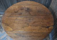 Georgian Oak Cricket Coffee Table (6 of 6)