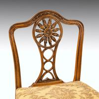 Most Elegant Set of Eight (6+2) Early 20th Century Chippendale Style Mahogany Framed Chairs (9 of 11)