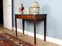 Antique Georgian Mahogany D-End Console Table (4 of 4)