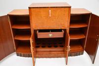 Art Deco Burr Walnut Cocktail Cabinet / Sideboard by Epstein (6 of 12)