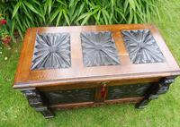 Country Oak Cottage Coffer 1860 (9 of 12)