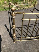 Brass King Size Bed Frame (4 of 7)