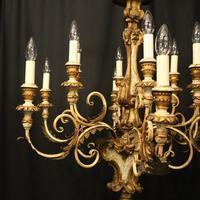 Florentine 12 Light Polychrome Antique Chandelier (3 of 10)