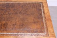 19th Century Victorian Satinbirch Writing Desk (7 of 9)