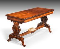 Regency Period Rosewood Library Table (2 of 7)