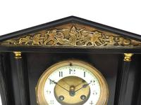 Amazing French Slate 8 Day Striking Mantle Clock (4 of 12)