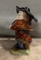 German, Dresden dwarf figure playing violin (5 of 5)