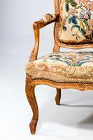 Louis XV Beech Framed Sofa (2 of 5)