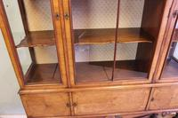 Quality Antique Walnut Display Cabinet (18 of 19)