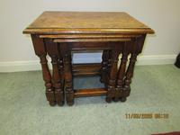 Good Quality Oak Nest of Tables (2 of 4)