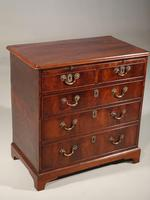 Chippendale Period Mahogany Chest of Drawers (2 of 5)